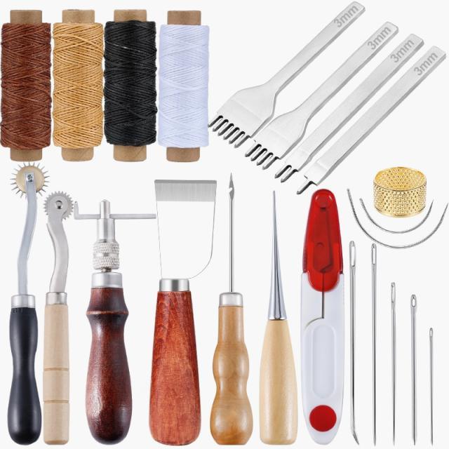 Наборы инструментов для обработки кожи